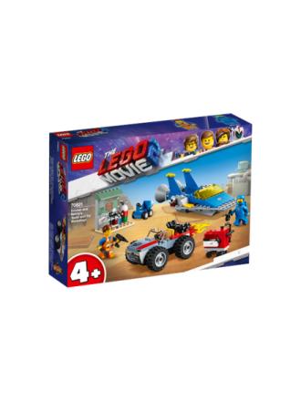 """Lego Movie 70821 Emmet og Bennys """"Byg og fiks""""-værksted! - Proshop"""
