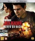 Jack Reacher - Never Go Back - 4K Ultra HD + Blu-ray