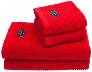 Newport Collection Handdukar, 4-PACK 2 st 30x50 + 2 st 70x140 cm röd