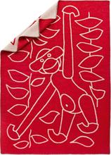 Pläd Röd 80x120 cm