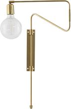 Swing Vägglampa Mässing 35 cm