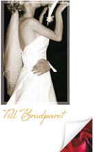 Gratulationskort mini Bröllop 2