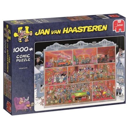 Jan Van Haasteren - Comic Puzzle - Grand cafe -1000 pc