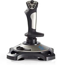 Nedis Joystick med vibrationseffekter, USB-driven