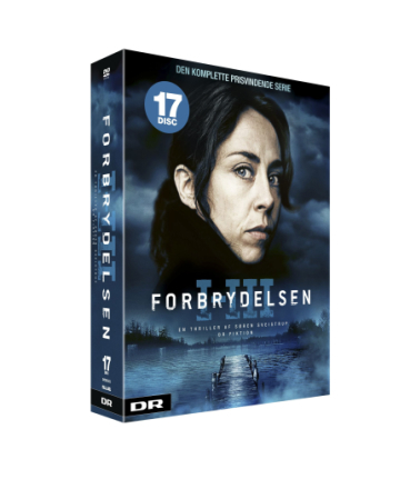 Forbrydelsen season 1-3 DVD