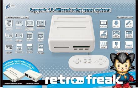 Retro Freak 12-1 Retro Games Console - Premium Edition /Retro Gaming & Microconsoles