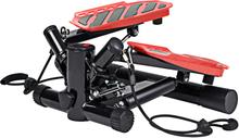 vidaXL Trappmaskin med motståndsband svart och röd