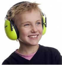 A Safety A-Safety Hörselskydd - Neongrön