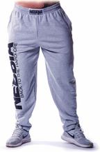 Nebbia Hardcore Fitness Sweatpants, grey, M Träningsbyxor herr