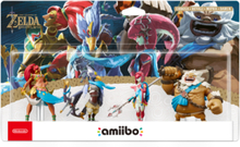 Amiibo Champions Pack - Breath of the Wild (The Legend Of Zelda) - Tillbehör för spelkonsol - Switch