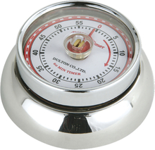 Zassenhaus - Retro Collection Timer med magnet Krom