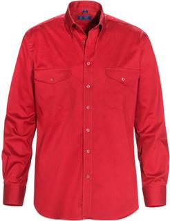 Skjorta MOORE röd regular fit