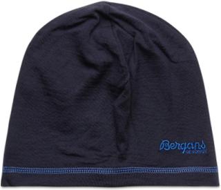 Bergans Wool Junior Beanie Accessories Headwear Hats Blå Bergans