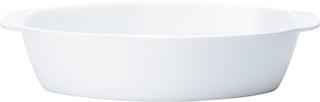Backaryd Ugnsform 35 cm oval Vit