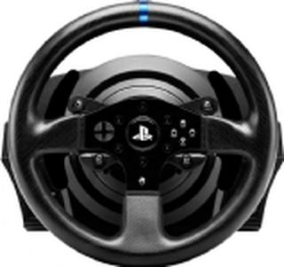 Thrustmaster T300RS, Rat + Pedaler, PC,Playstation 3,PlayStation 4, D-måtte, Ledningsført, USB 2.0, Sort