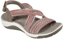 Skechers Womens Reggae Cup Taupe Coral