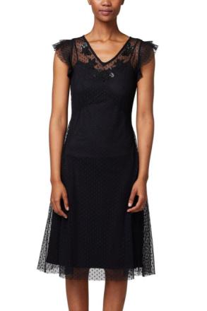 Klänning Dotted Soft Mesh Dress
