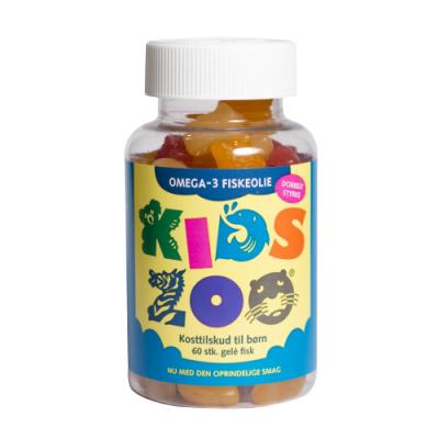Kids Zoo Omega-3 Kala 60 kpl