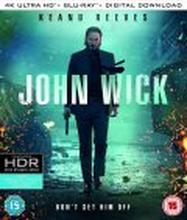 John Wick - 4K Ultra HD + Blu-ray (Tuonti)