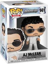 Backstreet Boys - AJ McLean Vinyl Figur 141 -Funko Pop! - multicolor