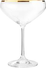 Romance Champagneskål Guldkant 34 cl