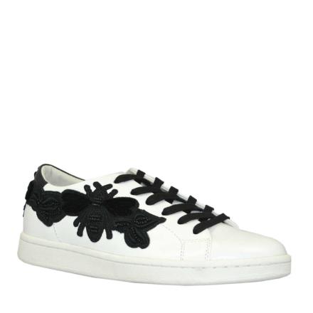Philip Hog Selma Sneaker med insekt, vit/svart