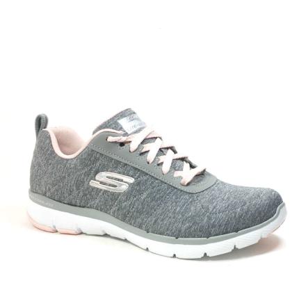 Skechers Flex Appeal 3.0 Sneakers, grå