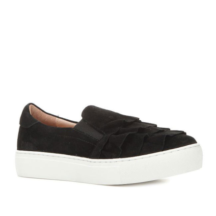 Dasia Starlily Sneakers med volang, svart