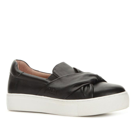 Dasia Starlily Strap Sneaker med knut, svart