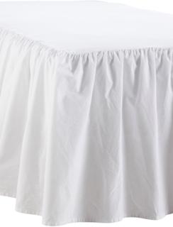 Sängkappa Meja i tvättad bomull