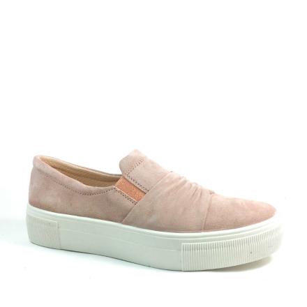 Legero Lima Slipon-sko med rynk, rosa