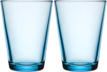 Kartio Glas 40 cl 2-pack Ljusblå