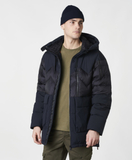 Fat Boy Hybrid Down Parka Black