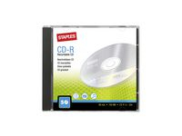 CD-R STAPLES 700MB Jewel Case 5/FP
