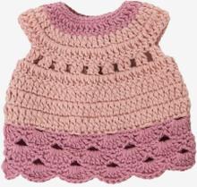 Dockklänning rosa, 30 cm