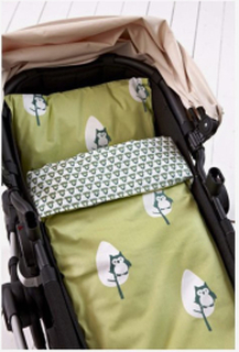 Påslakanset barnvagn/vagga Pumpkin, grön