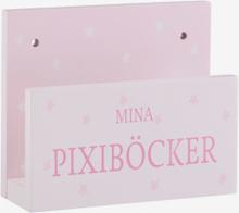 Bokställ till Pixiböcker, rosa