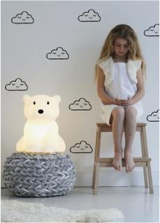 Väggdekaler sovande moln - wallstickers