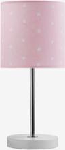 Bordslampa små stjärnor, rosa