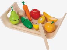 Frukt och grönsaker gummiträ, eko