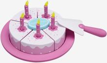 Star födelsedagstårta i trä, rosa