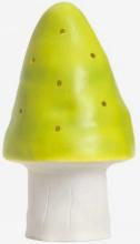 Flugsvampslampa toppig, ljusgrön