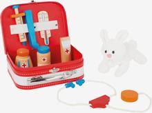 Doktorsväska för djur veterinär med hare