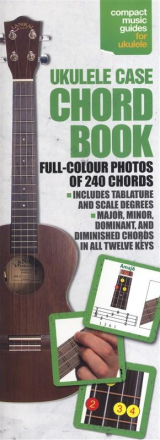 Brand mangler Ukulele Case Chord Book lærebok