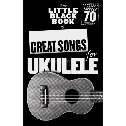 Brand mangler The Little Black Book of Great Songs for Ukulele sangbok