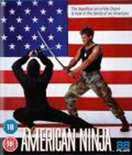 American Ninja (Blu-ray) (Tuonti)