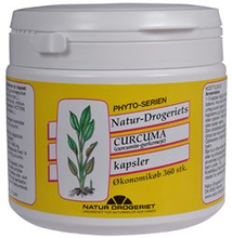 Natur Drogeriet Curcuma kapsler 495 mg (360 stk)