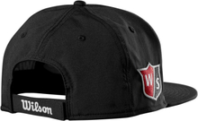 Wilson Flat Brim Cap Black