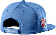 Wilson Flat Brim Cap Blue
