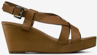 Sandaletter med kilehæl